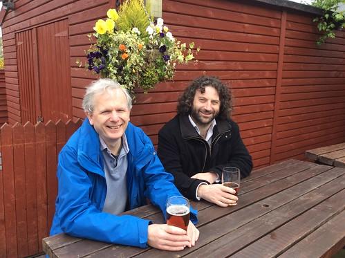 Cambridge members Patrick and Chris