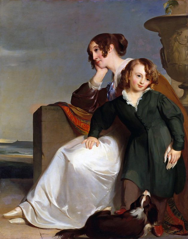 Thomas Sully - Mother and Son (1840)