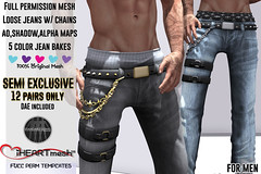 iHm - Semi Exclusive - Male Loose Jeans