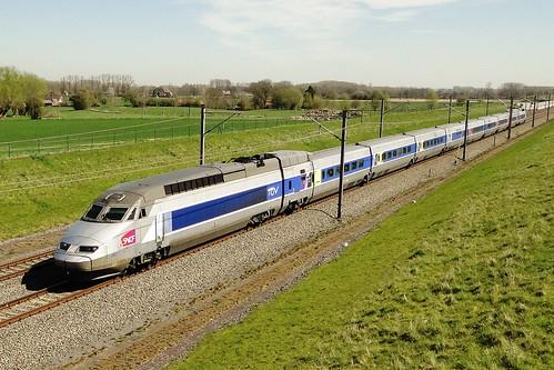 Belgian High Speed - TGV Réseau on it's way to Paris.