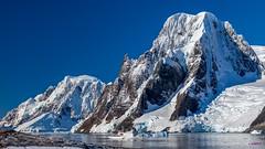 Overlooking Penola Strait, Booth Island, Wilhelm Archipelago @ Petermann Island, Antarctica