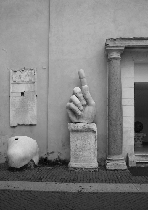 Mano Roma Musei Capitolini