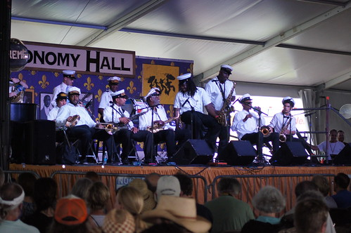 Treme Brass Band.  Photo by Bill Sasser