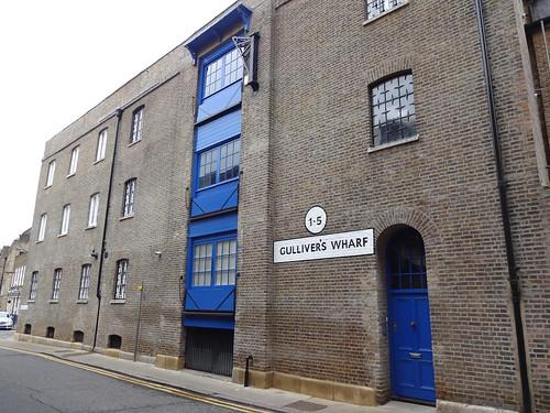 Gullivers Wharf Wapping