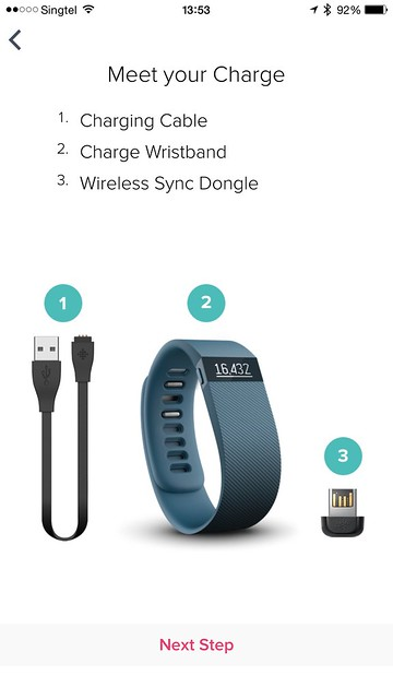 Fitbit iOS App - Setup #3