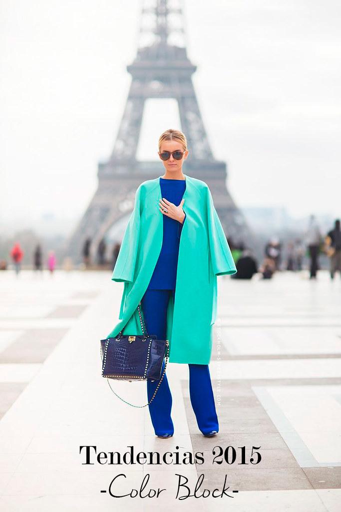 Inspiración para vestirte a la última: color block