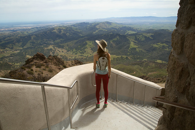 Me overlooking the Livermore Valley in the distance