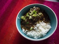 Asian BBQ Beef Finger Stew