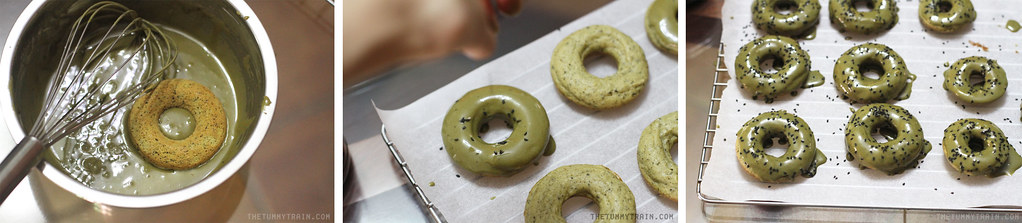 17284721026 9f41dc5a94 b - Baked Matcha Doughnuts for my Japan Hangover