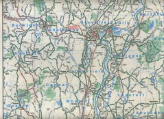 Cycling Map Leverett/Hilltown