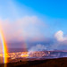 Volcanos & Rainbows by konaboy