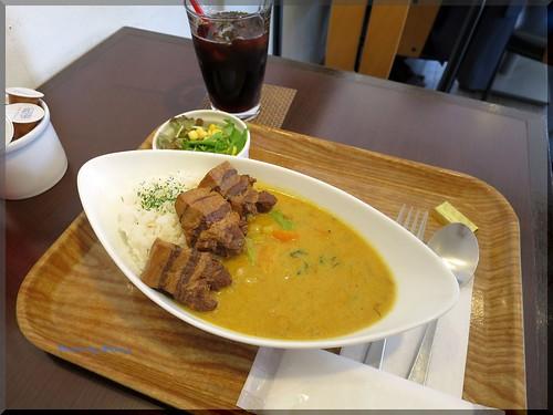 Photo:2015-04-22_築地記録帳_場外:Lino カフェ飯のカレーはなかなか本格的で美味なり!_01 By:logtaka