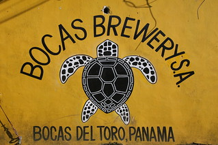 Bocas Brewery, stop by for the mango IPA if you're lucky they'll still be brewing it