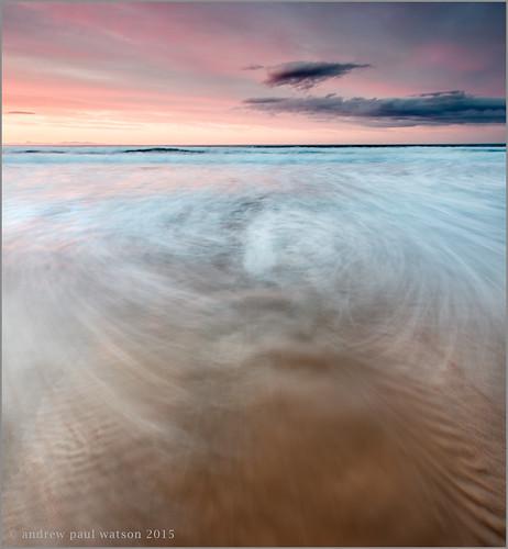 uk sunset canon bay scotland long exposure cove moray