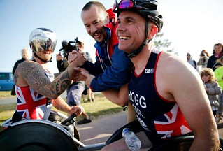 Phil Hogg, paratriathlete – PT1 – in the British Championship 2015