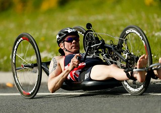 Phil Hogg, paratriathlete – PT1 – in the British Championship 2015