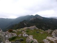 Le plateau au sommet de Punta di u Castellacciu