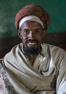 Sufi Worshipper, Harar, Ethiopia