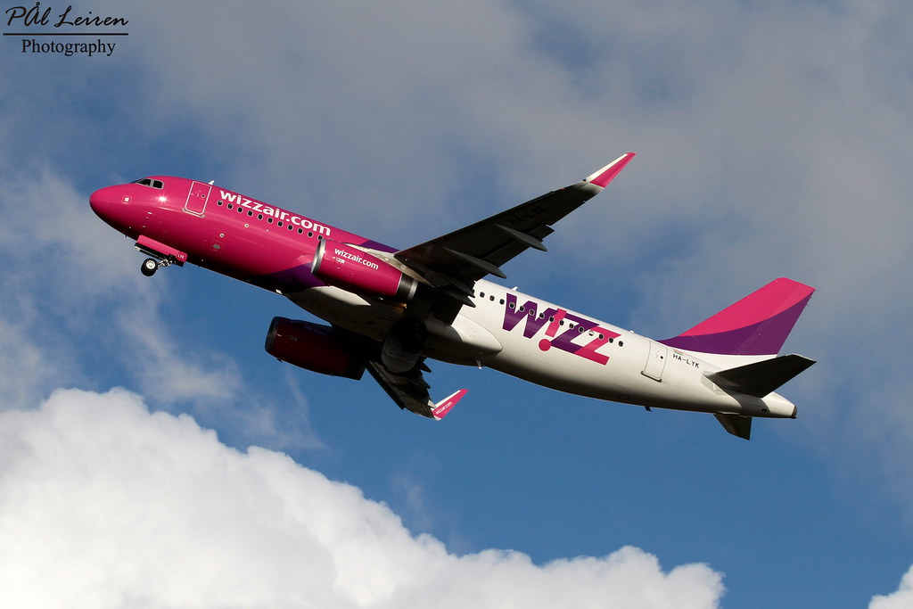 HA-LYK - A320 - Wizz Air