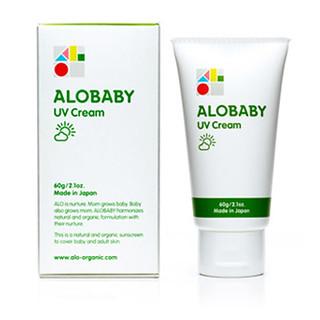 赤ちゃん 日焼け止め アロベビー UVクリーム