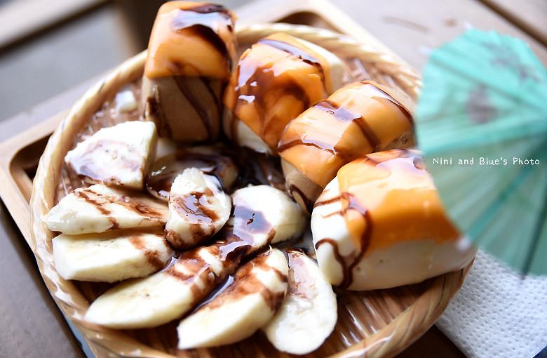 台中一中街霜府美食冰品小吃豆花仙草雪花冰抹茶珍奶17