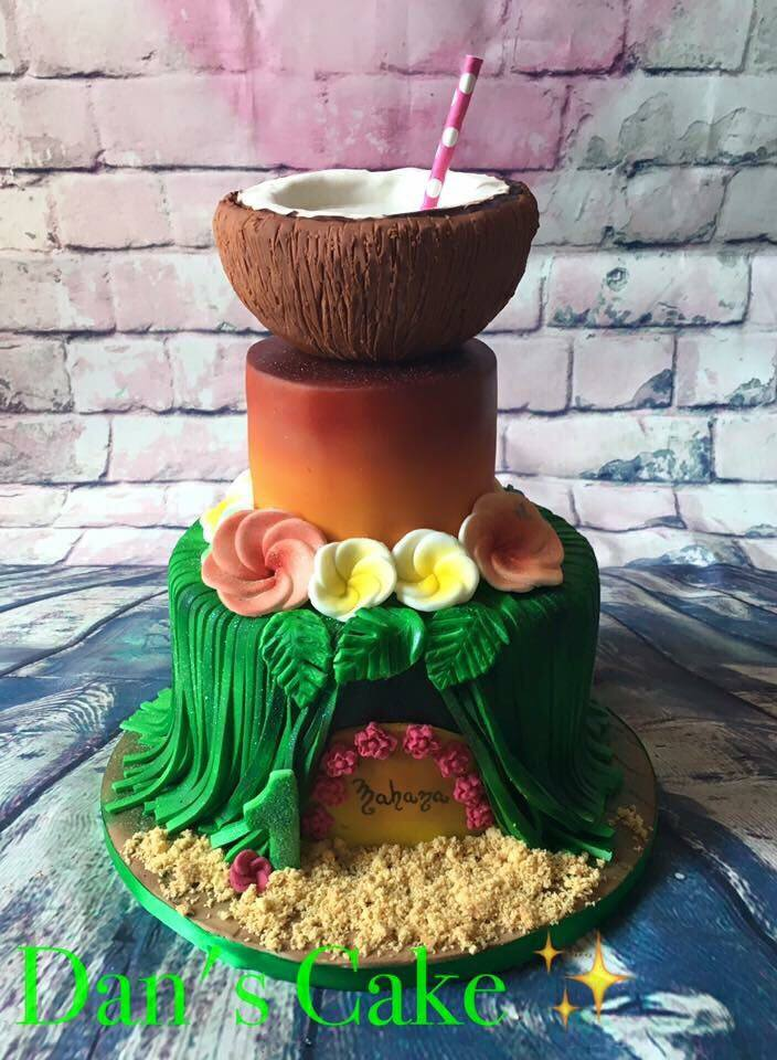 Amazing Cake with Coconut Topper by Jennyludo And-Co