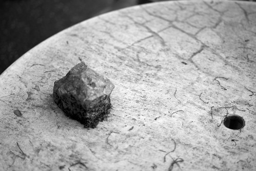 Rock, Table, Morning