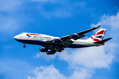 British Airways Boeing 747-436 G-BYGF