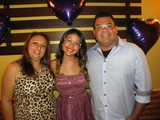 Zélia Santos, Maria Rita e Richardson Duarte