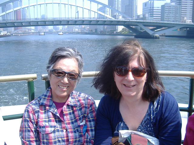 On the Sumida River water bus