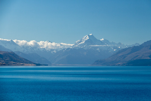 Mt Cook in the distance