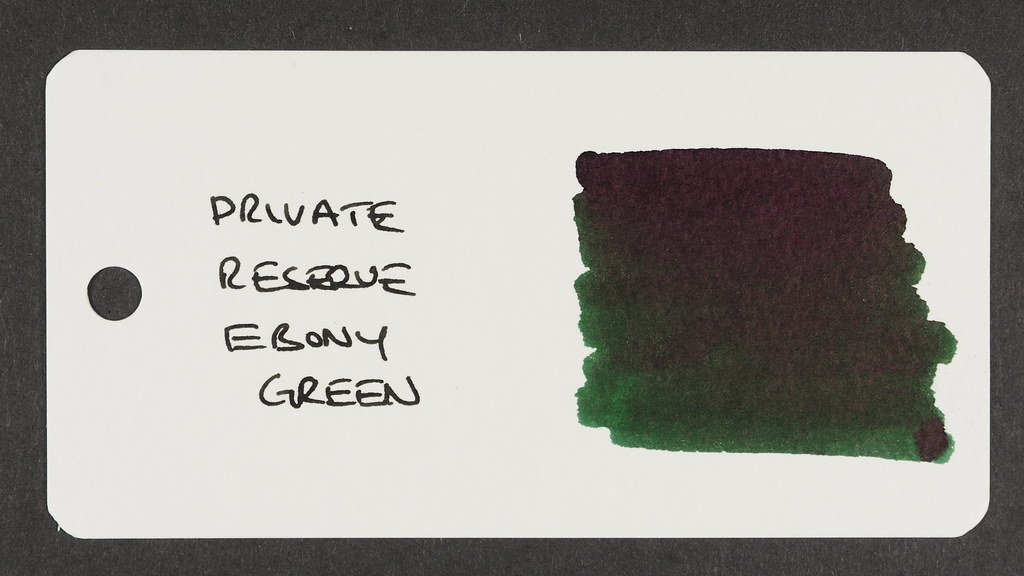 Private Reserve Ebony Green - Word Card