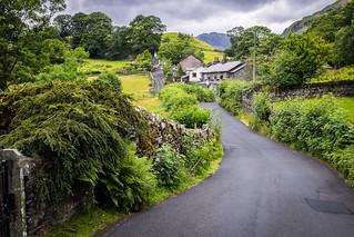 Little Langdale, Lake District, England
