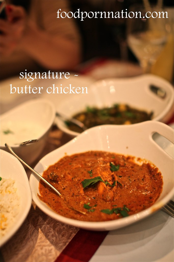 Signature Butter Chicken - Gaylord - Fitzrovia - London Food Blog