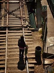 do not enter trestle, San Lorenzo River, Santa Cruz, April 19, 2013 (2)