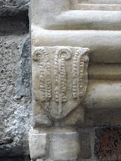Coat-of-Arms - Palace Penna (year 1406) - [penna=plume] - Naples