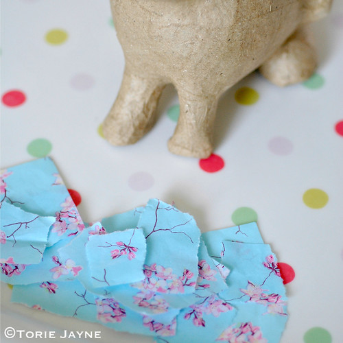 decoupage bunny tutorial