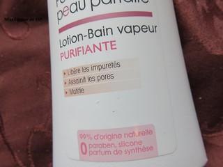 la lotion Bain vapeur Purifiante avis