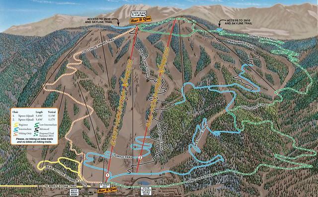 New beginner bike trail at Snow Summit