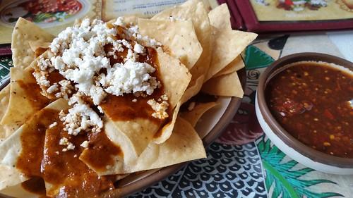 Chips & Mole & Salsa