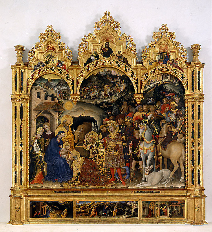 Gentile da Fabriano - The Adoration of the Kings