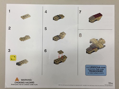 LEGO Star Wars Mini Wookiee Gunship