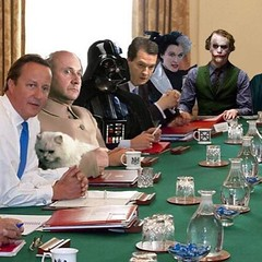 "Got an email titled ""first Tory cabinet meeting"". Still howling."