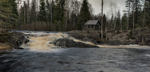 russialandscapespringkareliaruskealawaterfall
