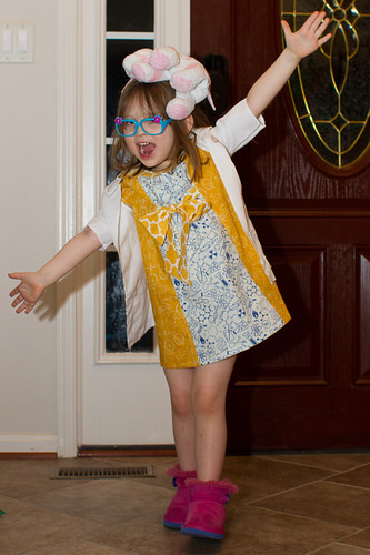 Mad Scientist Day Dress