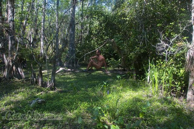 naturist 0006 Gator Hook Trail, Big Cypress National Preserve, Florida, USA
