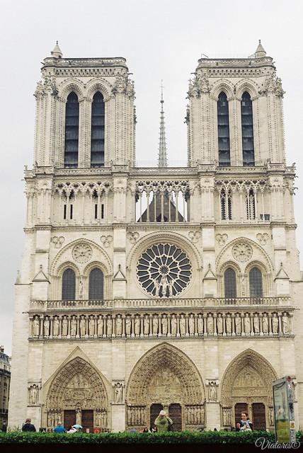Нотр-Дам-де-Пари. Париж. Notre Dame de Paris. Paris. France