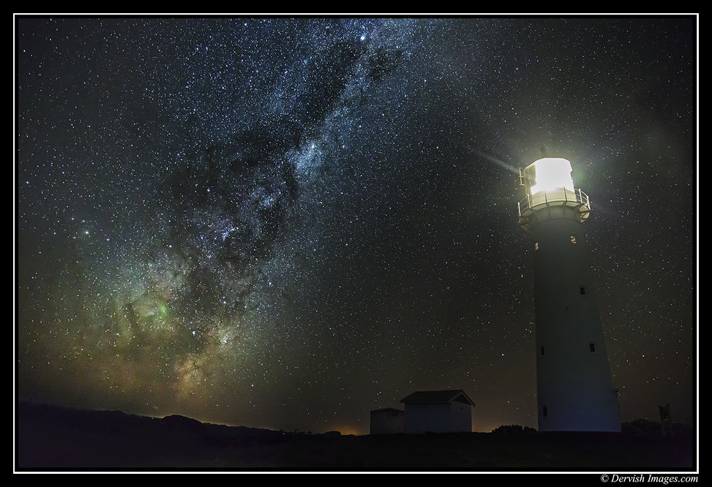 Cape Egmont Milky Way