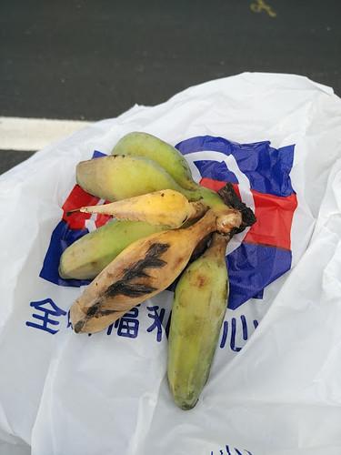 一串香蕉,和我的全聯袋子