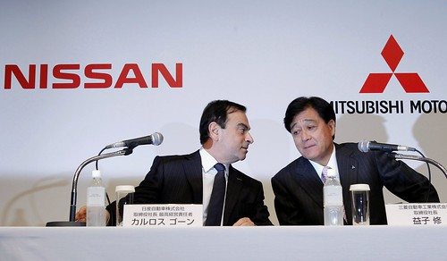 Nissan купує третину акцій Mitsubishi